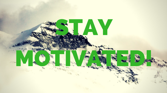 Startup business stay motivated