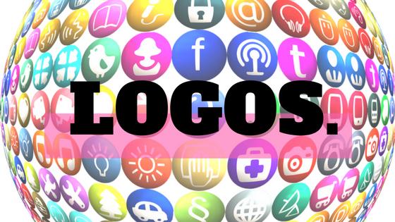 Social media profiles logos
