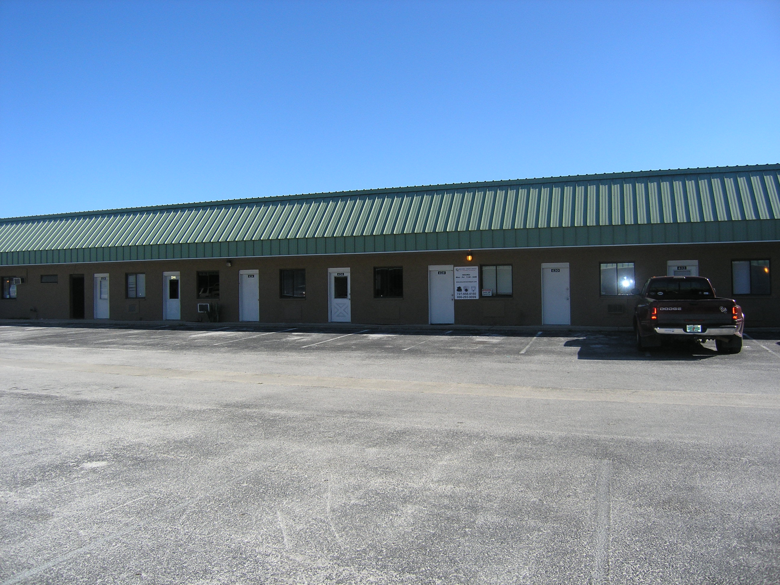 Business offices for lease
